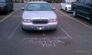 Parking Spot Just for You