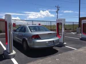 Electric Vehicle Spot For Electric Vehicle Only