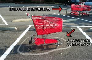 Return Your Shopping Cart